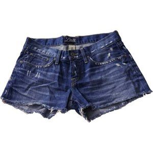 Lucky Brand Riley Cut Off Shorts Denim Womens 0 25